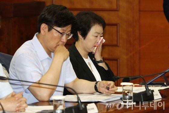 황수경 전 통계청장. 2018.8.2/뉴스1