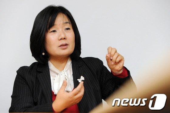 윤미향 더불어민주당 비례대표 당선인(전  정의기억연대 이사장) © News1 DB