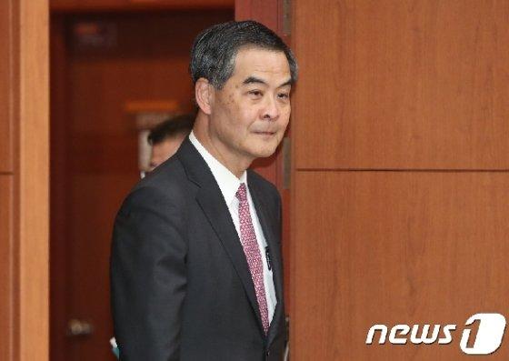 렁춘잉 전 홍콩 행정장관 2017.11.30/뉴스1 © News1 이재명 기자