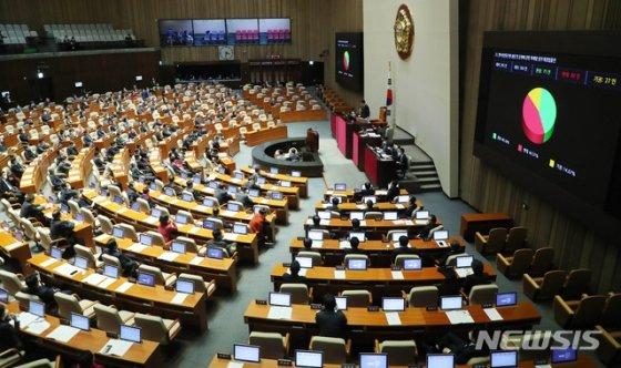 인터넷전문은행 설립 및 운영에 관한 특례법 일부개정법률안이 지난 3월 5일 서울 여의도 국회에서 열린 제376회 국회(임시회) 제8차 본회에 상정됐다. / 사진제공=뉴시스