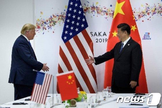 도널드 트럼프 미국 대통령(왼쪽)과 시진핑 중국 국가주석. 2019.6.29/뉴스1 © AFP=뉴스1