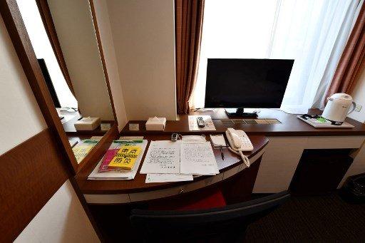 일본 한 호텔 객실 풍경으로 기사의 직접적인 내용과는 무관합니다/사진=AFP