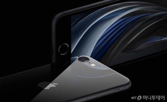 애플 보급형 스마트폰 2세대 아이폰SE / 사진제공=애플
