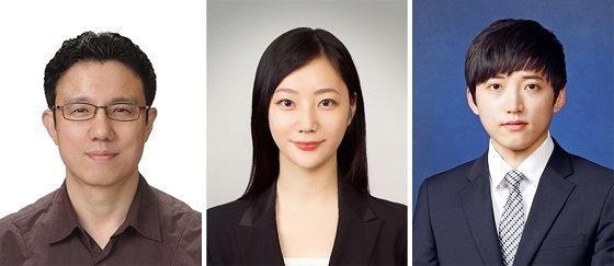 (왼쪽부터) 예종철 교수, 오유진 박사과정, 박상준 박사과정/사진=KAIST