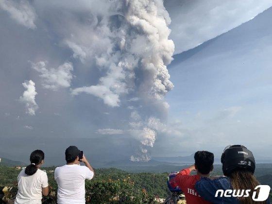 화산폭발 자료사진/AFP=뉴스1