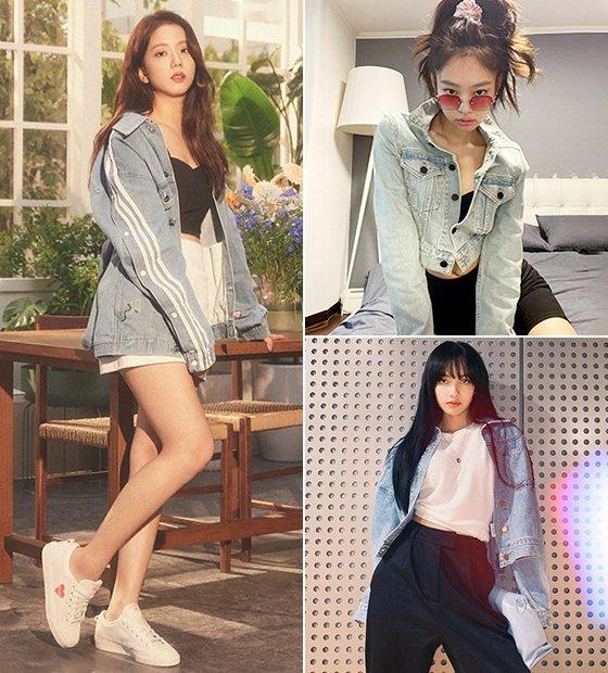 그룹 블랙핑크 지수, 제니, 리사/사진=각 스타 인스타그램