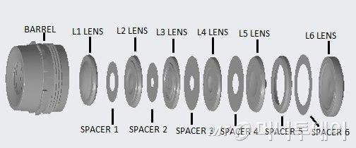 [더벨]디오스텍, 1억 화소 스마트폰용 렌즈 특허 출원