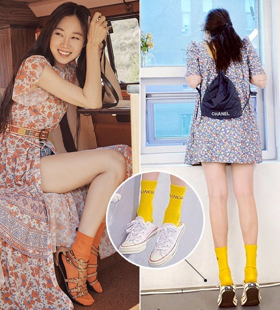 배우 공효진, 가수 현아/사진=써스데이 아일랜드, 현아 인스타그램