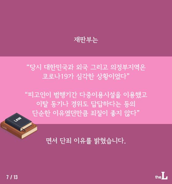 """[카드뉴스] """"자가격리 답답해서"""" 무단이탈…'실형'"""