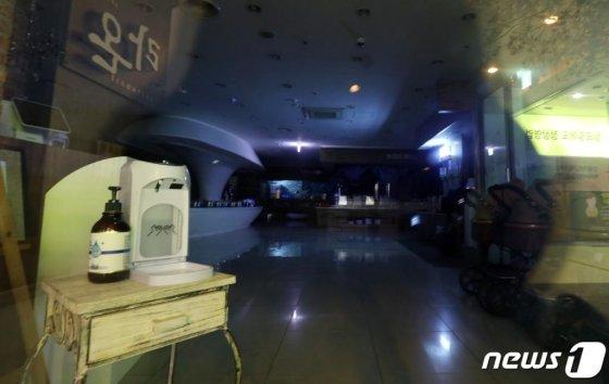 사진은 24일 불꺼진 부천 라온파티 뷔페식당의 모습./사진=뉴스1