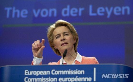 우르줄라 폰데어라이엔 EU(유럽연합) 집행위원장