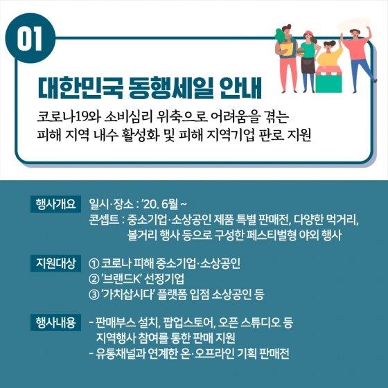 2000개 대중소 상인 참여…'대한민국 동행세일', 6월 개최