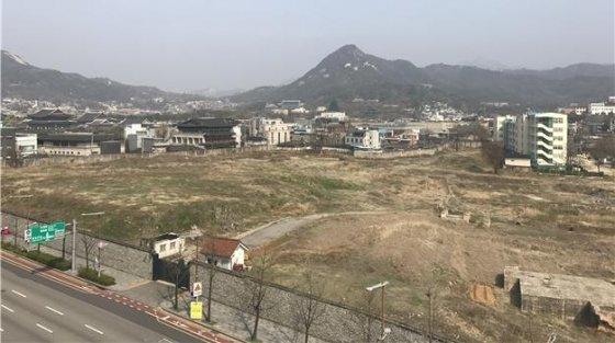 송현동 대한항공 부지 현재 모습. /사진제공=서울시