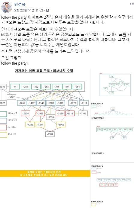 /사진=민경욱 의원 페이스북 캡쳐