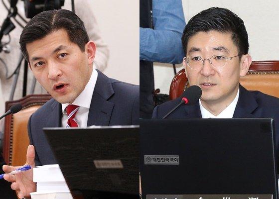 홍정욱 전 헤럴드 회장(왼쪽)과 김세연 미래통합당 의원./사진=머니투데이DB