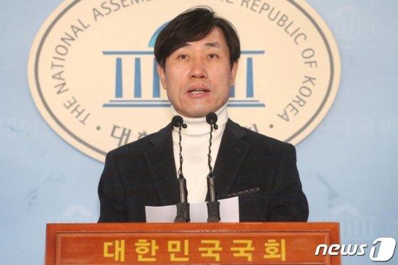 (서울=뉴스1) 임세영 기자 = 하태경 미래통합당 의원. 뉴스1