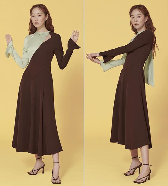 페이우 커트아웃 드레스/사진=페이우 공식 홈페이지