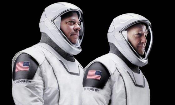 스페이스X가 만든 우주복/사진=스페이스X