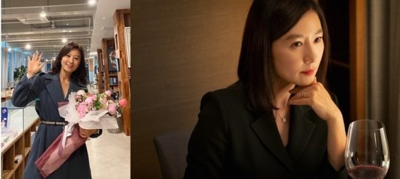/사진=김희애 인스타그램, JTBC '부부의 세계'