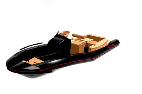 모루상사에서 개발 예정인  'S-TUBE를 적용한 수출형 RIB 보트' 디자인./사진제공=부산시