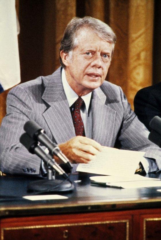 지미 카터 전 미국 대통령. /AFPBBNews=뉴스1