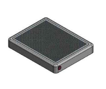 한국건설기술연구원의 기술이전으로 벤텍프론티어가 만든 외부 장착 가능한 광촉매 필터 '바이로(V-100)'/사진= 건기연
