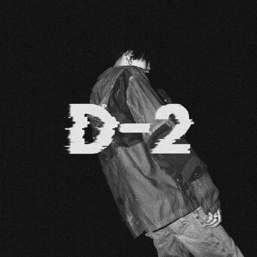 '어거스트 D'로 활동하는 BTS 슈가의 두 번째 믹스테이프 음반 'D-2'.