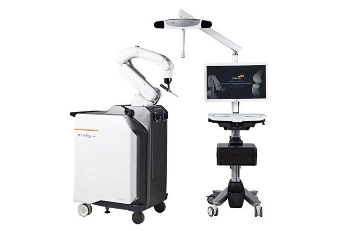 인공관절 수술로봇 '큐비스-조인트'/사진=큐렉소