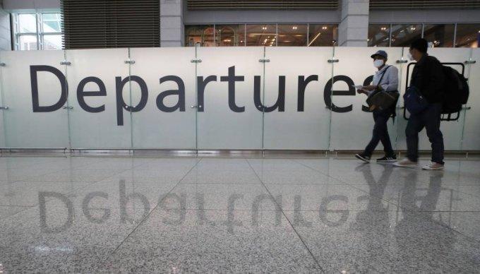 지난달 15일 인천국제공항 제1터미널 출국장이 한산한 모습을 보이고 있다. /사진=뉴시스