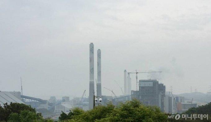 현대건설 당진화력발전소 9 10호기 / 사진제공=현대건설