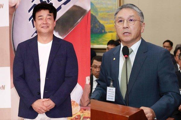 백종원 더본코리아대표(왼쪽), 함영준 오뚜기 회장 /사진=머니투데이DB