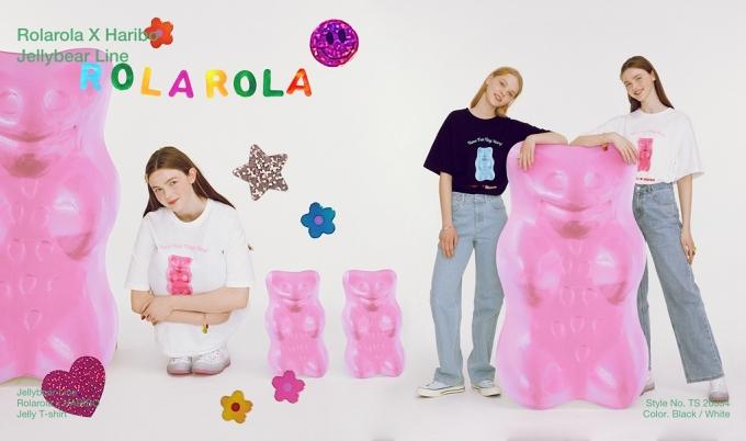 로라로라 x 하리보 컬렉션/사진제공=로라로라(rolarola)