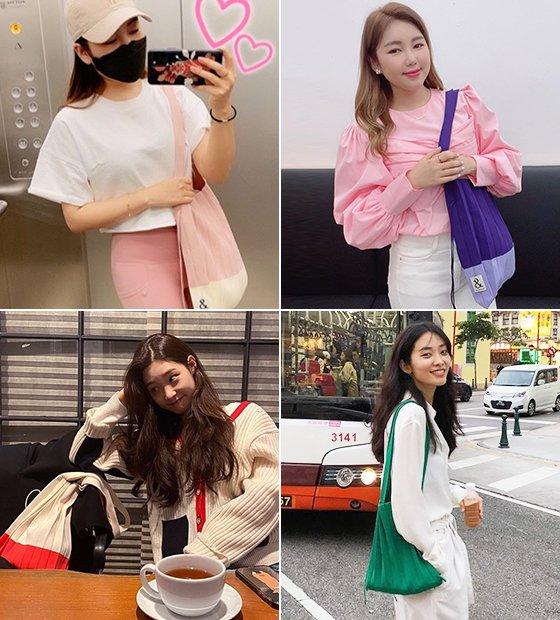 (왼쪽부터 시계 방향대로)가수 송가인, 모델 곽지영, 그룹 다이아 정채연/사진=각 스타 인스타그램