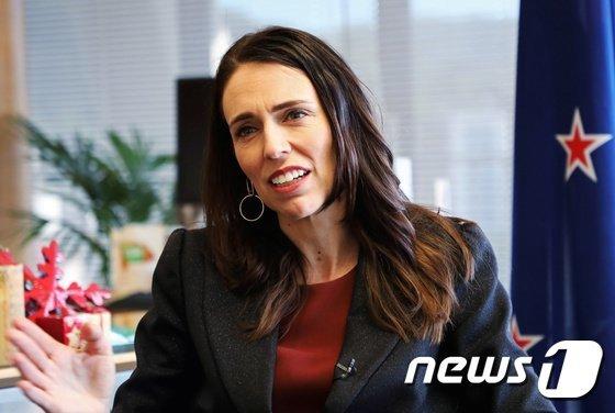 /사진=저신다 아던 뉴질랜드 총리/사진제공=로이터, 뉴스1