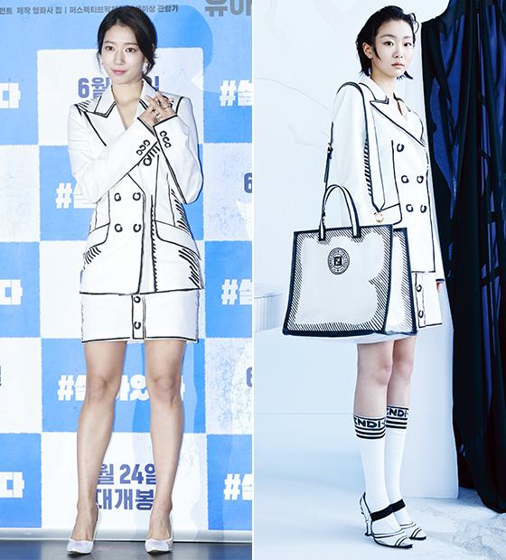 배우 박신혜, 김다미/사진=뉴스1, 김다미 인스타그램