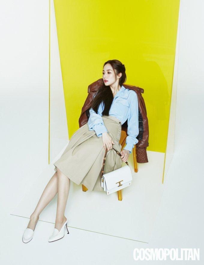 배우 박민영/사진제공=코스모폴리탄