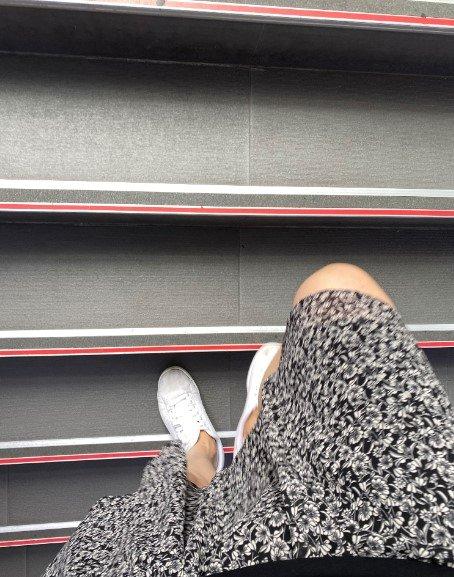 치마를 입고 계단을 올라갈 땐, 아무래도 신경이 쓰였다./사진=남형도 기자