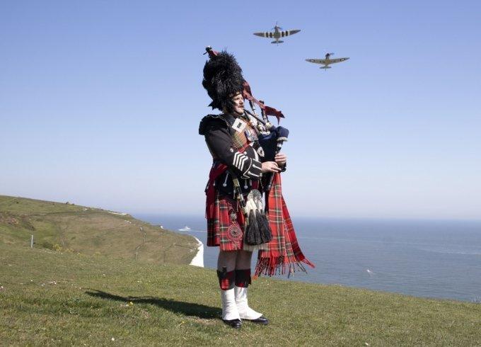 스코틀랜드에선 남자도 치마를 입는단 게 잘 알려져 있다./사진=뉴스1