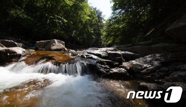 포천 백운계곡(경기관광공사 제공)/© 뉴스1