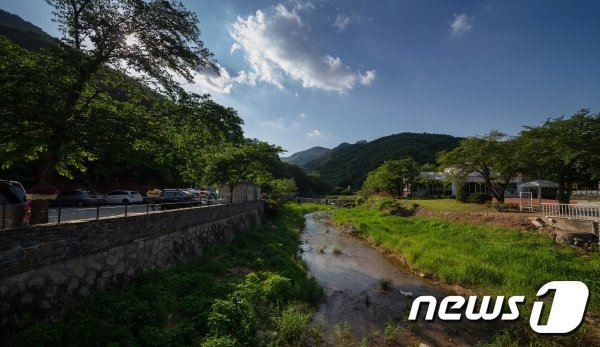 양주 석현천 계곡(경기관광공사 제공)/© 뉴스1