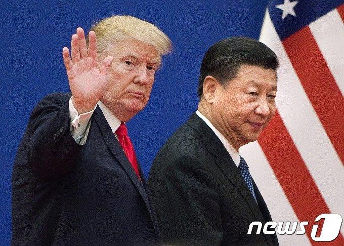 도널드 트럼프 미국 대통령(왼쪽)과 시진핑 중국 국가주석(오른쪽).©AFP=News1