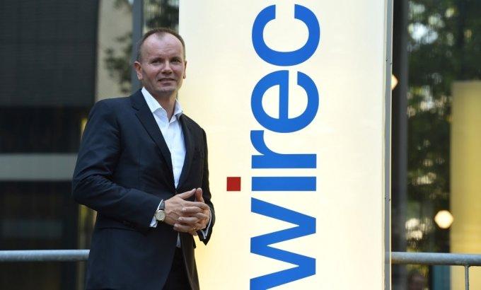 지난 19일(현지시간) 물러난 마르쿠스 브라운 독일 와이어카드 CEO. /사진=AFP