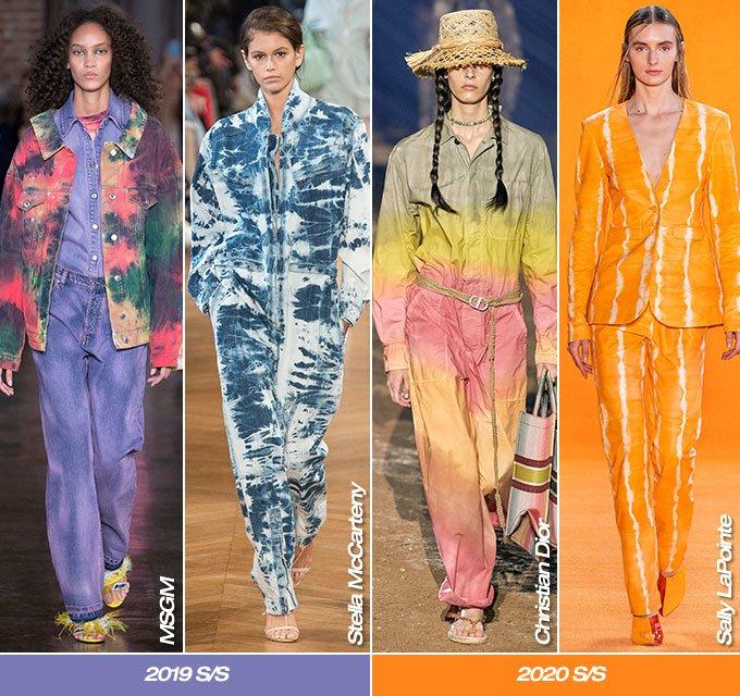 MSGM, 스텔라 맥카트니 2019 S/S 컬렉션, 크리스찬 디올, 샐리 라폰테 2020 S/S 컬렉션/사진=각 브랜드