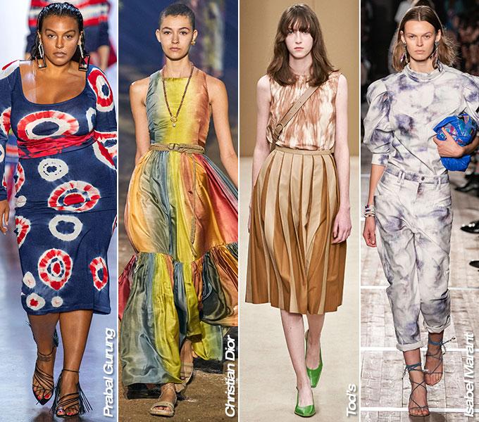 프라발 구룽, 디올, 토즈, 이자벨 마랑 2020 S/S 컬렉션/사진=각 브랜드