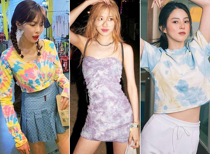 가수 현아, 그룹 블랙핑크 로제, 배우 한소희/사진=각 스타 인스타그램, 배럴