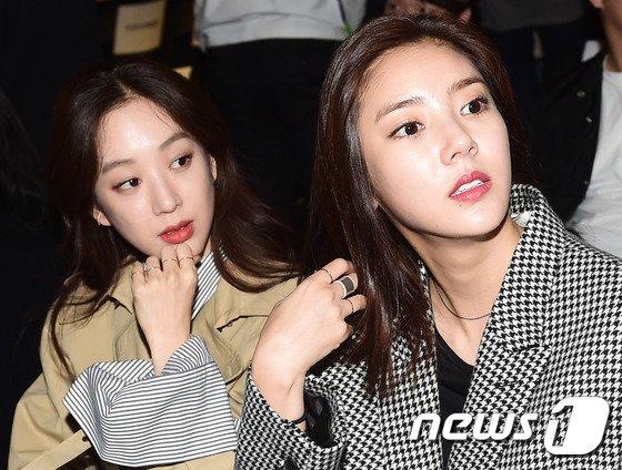 배우 정려원(왼쪽)과 손담비 © News1