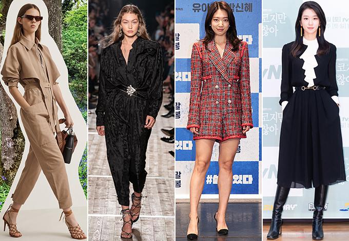 /사진=스텔라 맥카트니 2020 리조트, 이자벨 마랑 2020 S/S 컬렉션, 롯데엔터테인먼트 제공(배우 박신혜),tvN 제공(배우 서예지)