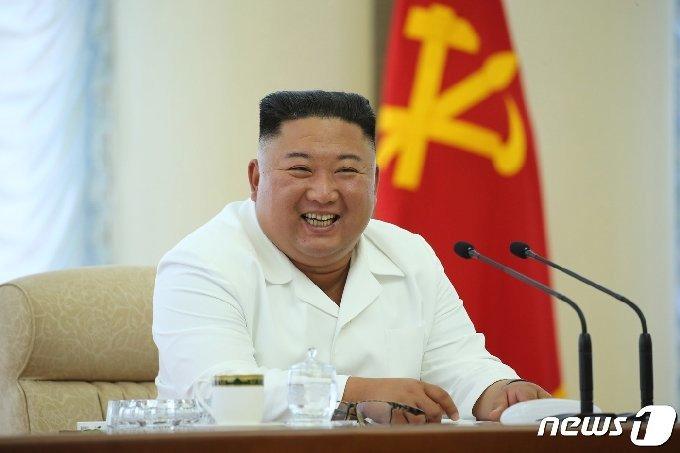 김정은 북한 국무위원장.[국내에서만 사용가능. 재배포 금지] /평양노동신문=뉴스1