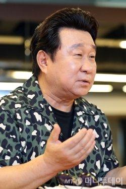 배우 임하룡. /사진=이기범 기자<br>