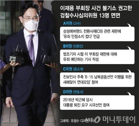 """삼성 수사심의위 보니 '반삼성' 인사도 다수…""""일방논의 없었다"""""""